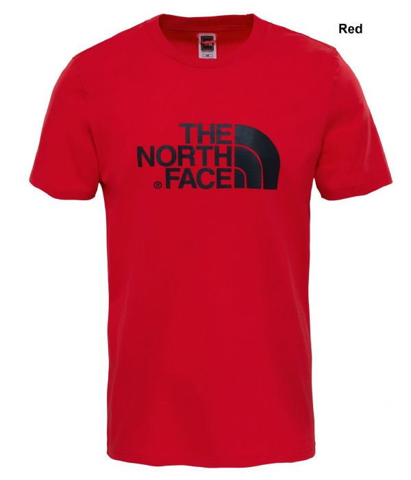 The North Face Mens Easy Tee - Cotton Short Sleeve T-Shirt